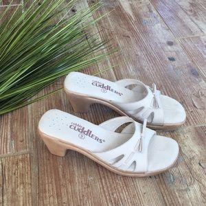 79867877d712 Cobbie cuddlers leather sandals